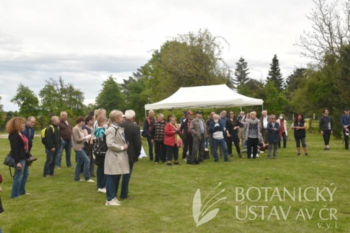 Vernisáž výstavy Bot. zahrady jako součást kulturního dědictví