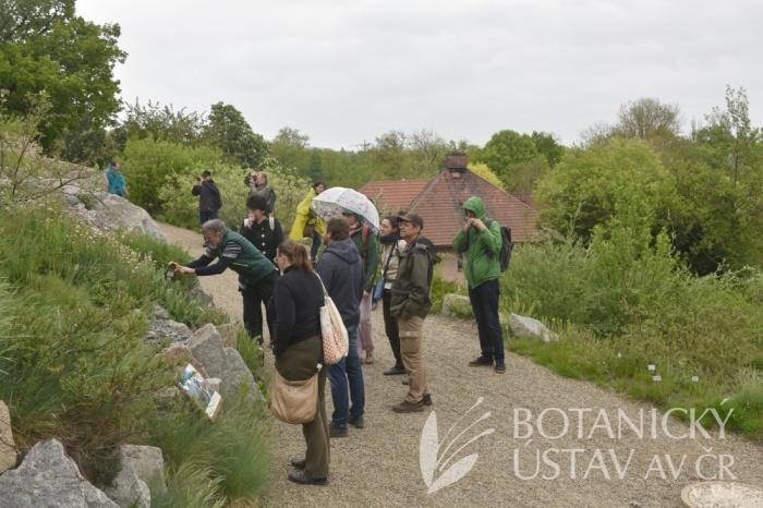 Exkurze během 9. pracovní skupiny pro genofondy